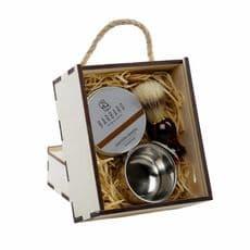 Barbaro GIFT BOX - Набор для бритья v.3 с чашей в деревянном, фото 2