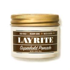 Layrite Superhold Pomade - помада на водной основе с cильной фиксацией, 120 гр, фото 1