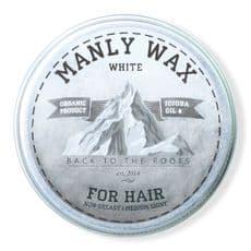 Manly Wax white - воск для волос, 50 мл, фото 1