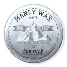 Manly Wax white - Воск для волос, 100 мл, фото 1