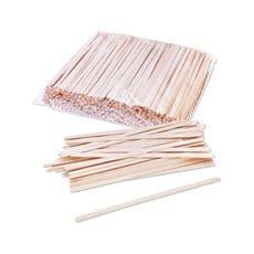 РАЗМЕШИВАТЕЛЬ деревянный h180 мм, 100шт, фото 1