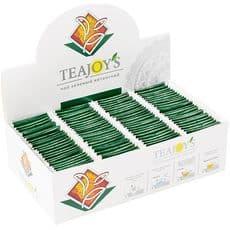TEAJOY'S - чай зеленый байховый китайский, (100 пакетиков по 2 гр), фото 1