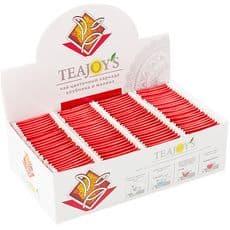 TEAJOY'S - чай цветочный каркаде с ароматом клубники и малины, (100 пакетиков по 2 гр), фото 1