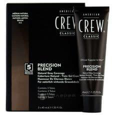 American Crew Precision - Камуфляж для седых волос, Средний натур. 4/5, 3*40мл, фото 1