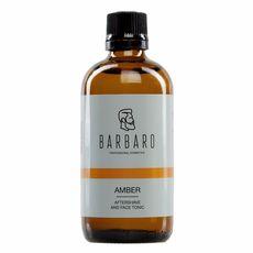 "Barbaro  ""Amber"" - Лосьон (тоник) после бритья, 100 мл, фото 1"