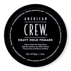 American Crew HEAVY HOLD POMADE - помада сильной фиксации 85 г, фото 1
