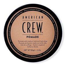 American Crew Pomade - Помада со средней фиксацией и высоким уровнем блеска для укладки волос 85 г, фото 1