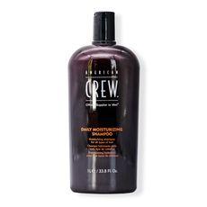 American Crew Daily Moisturizing Shampoo - шампунь для ежедневного ухода за нормальными и сухими волосами 1000 мл, фото 1