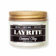 Layrite Cement Clay - матовая глина для волос, 120 гр, фото 1