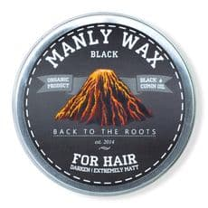 Manly Wax black - воск для волос, 50 мл, фото 1