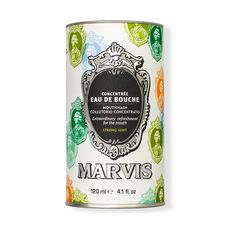 "Marvis Mouthwash Collutorio Concentrato / Strong Mint - Ополаскиватель/концентрат для полости рта ""Мята"", 120 мл, фото 1"