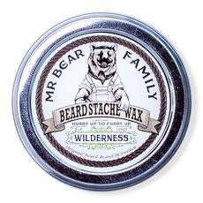 Mr. Bear Beard Stache Wax Wilderness - воск для бороды и усов 30 мл, фото 1