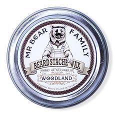 Mr. Bear Beard Stache Wax Woodland- воск для бороды и усов 30 мл, фото 1