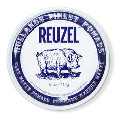 Reuzel Clay Matte Pomade Pig - глина сильной фиксации, 113 г, фото 1