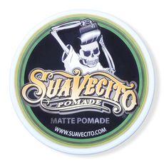 Suavecito Matte Pomade - матовая помада на водной основе, 113 г, фото 1