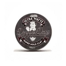Dapper Dan - ULTRA MATTE SUPER HOLD CLAY - УЛЬТРА-МАТОВАЯ ГЛИНА ДЛЯ УКЛАДКИ ВОЛОС, 100 мл, фото 1