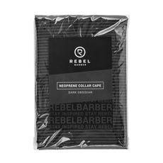 Rebel Barber - Dark Obsidian - Пеньюар с неопреновым воротником, фото 1