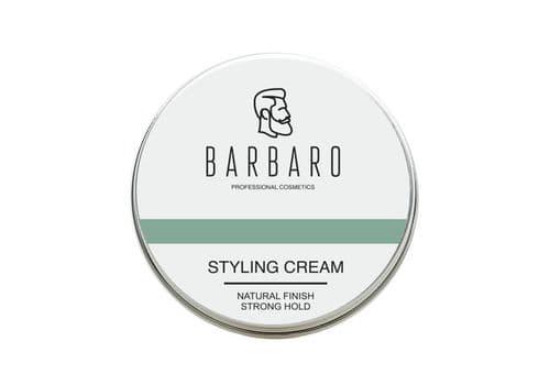 Barbaro Styling Cream- Крем для укладки волос / Естественный блеск, сильная фиксация, 60 г, фото 1