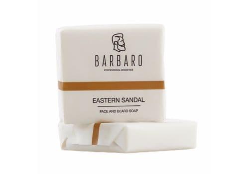 Barbaro «Eastern sandal» - Мыло для лица и бороды, 90 г, фото 1