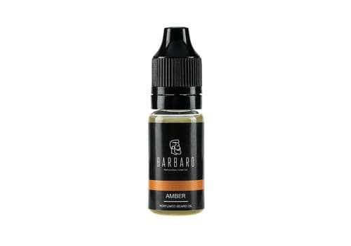 "Barbaro ""Amber"" - Парфюмированное масло для бороды, 10 мл, фото 1"