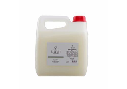 Barbaro Shampoo - Шампунь для ежедневного ухода за нормальными и жирными волосами, 3000 мл, фото 1