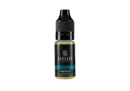 "Barbaro ""Emerald"" - Парфюмированное масло для бороды, 10 мл, фото 1"