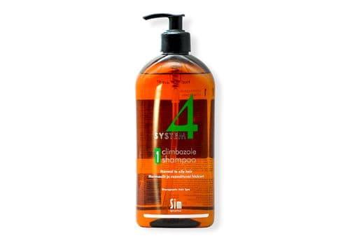 Sim Sensitive System 4 / Climbazole Shampoo № 1 - Шампунь № 1 ( для нормальных и жирных волос), 500 мл, фото 1