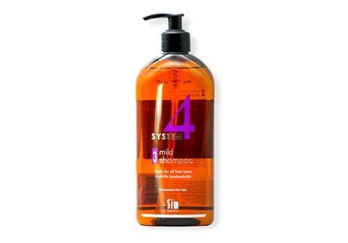 Sim Sensitive System 4 / Mild Shampoo № 3 - Шампунь № 3 (для профилактики и чувствительной кожи), 500 мл, фото 1