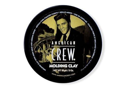 American Crew King Classic Molding Clay - формирующая глина сильной фиксации со средним уровнем блеска для укладки волос  85 г, фото 1
