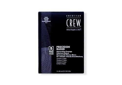 American Crew Precision - камуфляж для седых волос, Темный натур. 2/3, 3*40 мл., фото 1