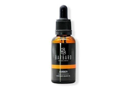 "Barbaro ""Amber"" - Парфюмированное масло для бороды, 30 мл, фото 1"
