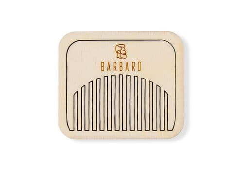 Barbaro - Гребень для бороды и волос, фото 1