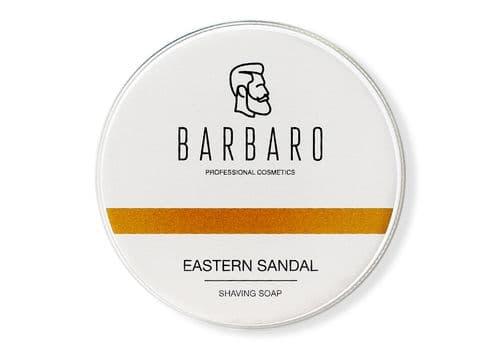 """Barbaro """"Eastern sandal"""" - Мыло для бритья, 80 г, фото 1"""