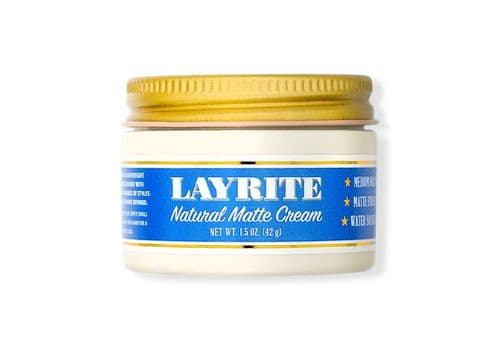 Layrite Natural Matte Cream - матовая паста, 42 гр, фото 1
