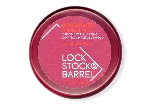 LOCK STOCK AND BARREL 85 KARATS - глина для густых волос, 100 гр, фото 1