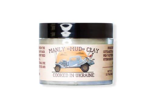 Manly Mud Clay - глина для укладки волос, 65 мл, фото 1