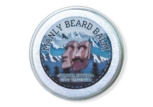 Manly Beard Balm Winter Edition - бальзам для бороды, 20 мл, фото 1