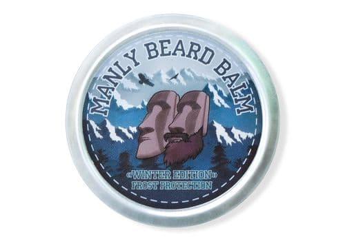 Manly Beard Balm Winter Edition - бальзам для бороды, 40 мл, фото 1