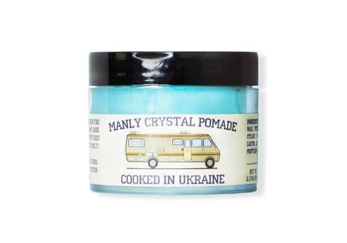 Manly Crystal Pomade - Помада для волос, 65 мл, фото 1