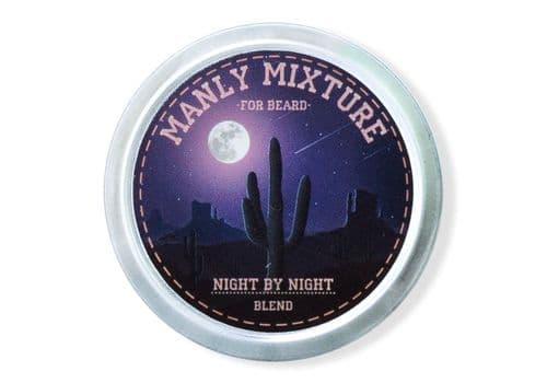 Manly Wax NIGHT BY NIGHT - Микстура для бороды, 40 мл, фото 1