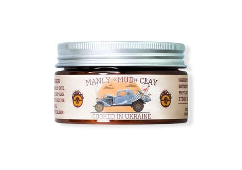 Manly Mud Clay - глина для укладки волос, 100 мл, фото 1