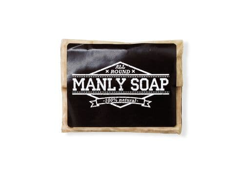 MANLY SOAP - Лавровое мыло, 90 г, фото 1