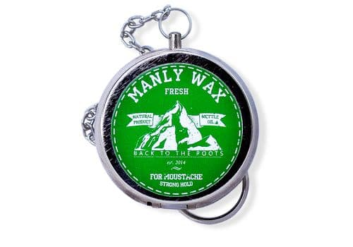 Manly Wax original, fresh - Воск для усов и бороды, 20 мл, фото 1