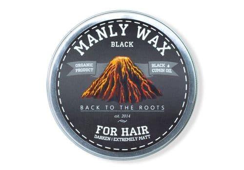 Manly Wax black - Воск для волос, 100 мл, фото 1