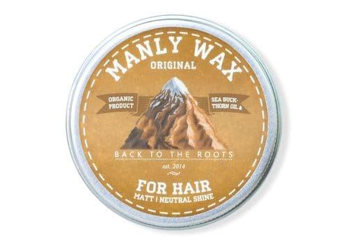 Manly Wax original - Воск для волос, 50мл, фото 1