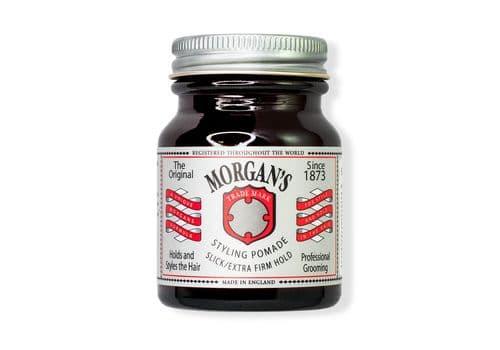 MORGAN'S Styling Pomade - Помада для укладки Экстрасильной фиксации/без блеска 50 г, фото 1