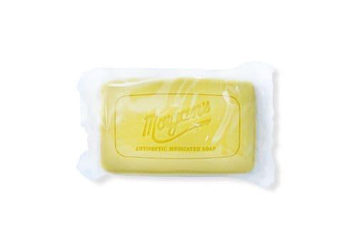 MORGAN'S Antiseptic Medicated Soap - Антибактериальное лечебное мыло, 80 гр, фото 1