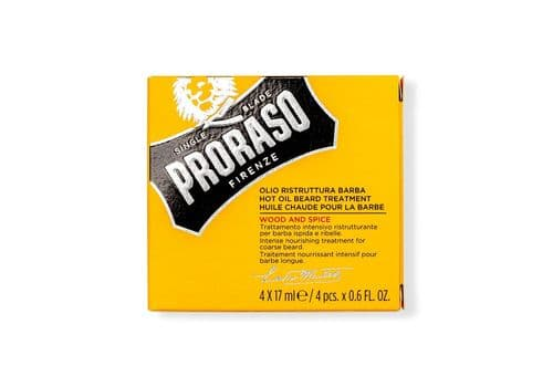 Proraso Beard Oil - Горячее масло для бороды Wood and Spice, 17 мл x 4, фото 1