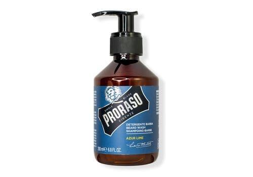 Proraso Azur Lime Beard Shampoo - шампунь для бороды, 200 мл, фото 1