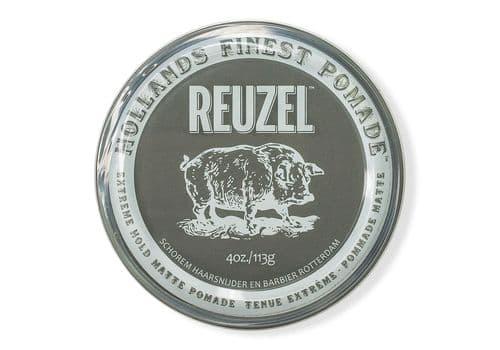 Reuzel Extreme Hold Matte Pomade-паста экстрасильной фиксации с матовым эффектом, 113г, фото 1